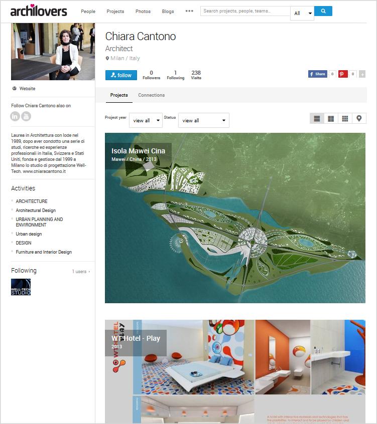 Architetto Chiara Cantono Archilovers
