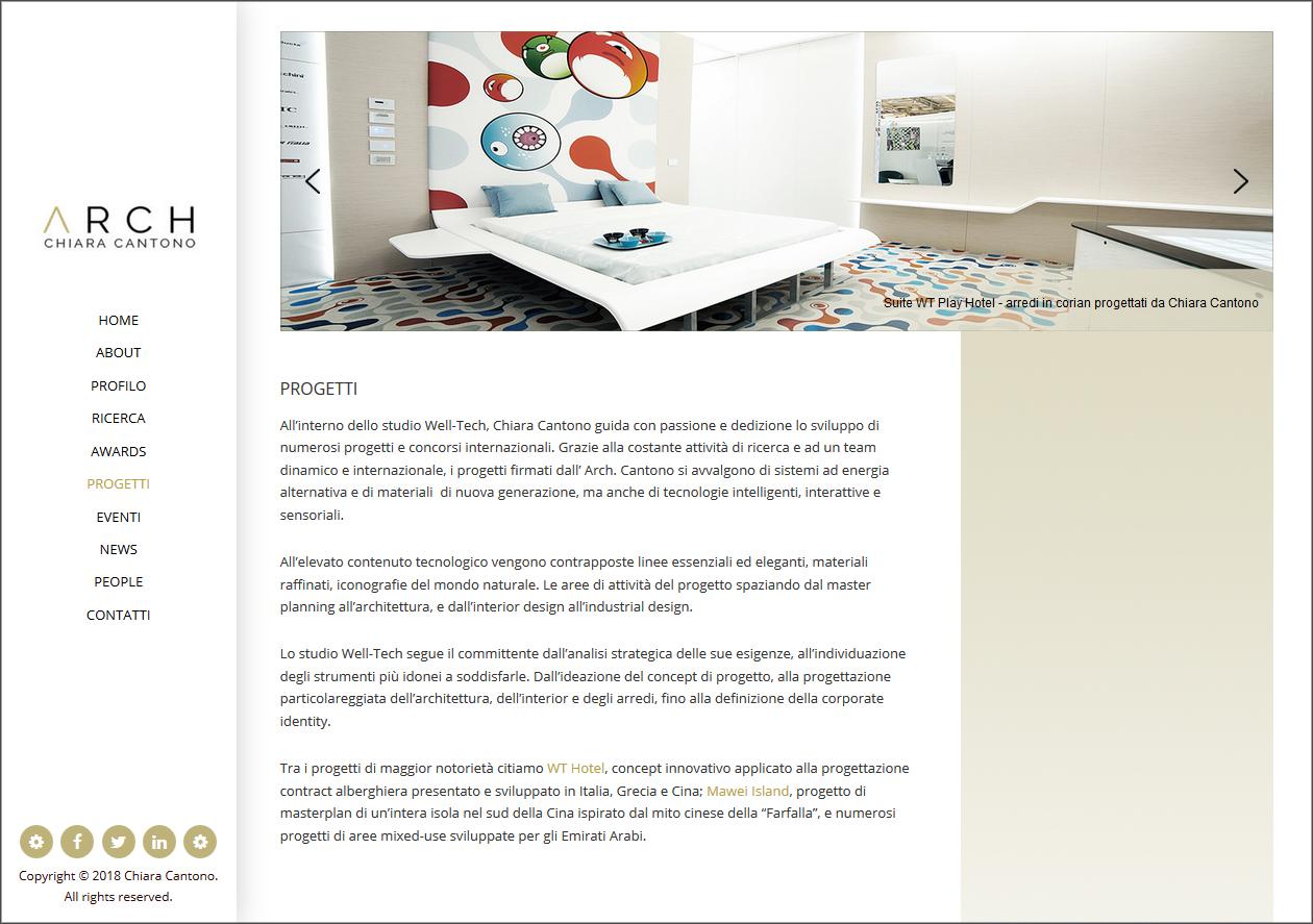 nuovi progetti Chiara Cantono